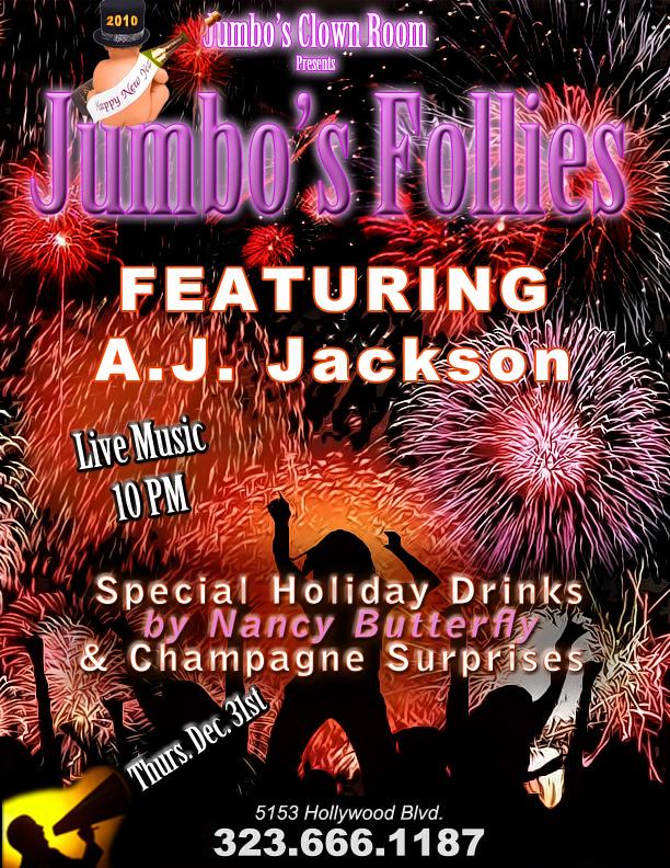 Jumbo\'s Follies | Jumbo\'s Clown Room