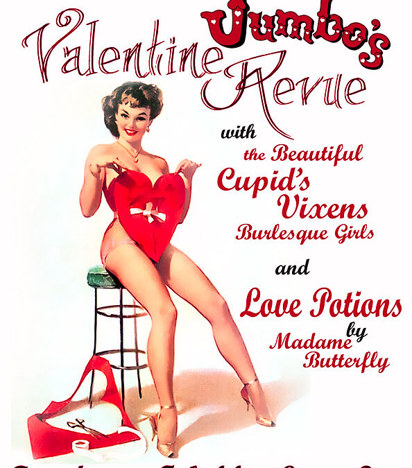 Sitting Heart Flyer - Valentines 2012